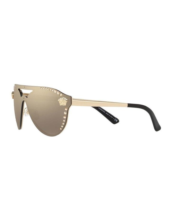 Gold Rimless Cat Eye Sunglasses VE2161B 434432 image 3