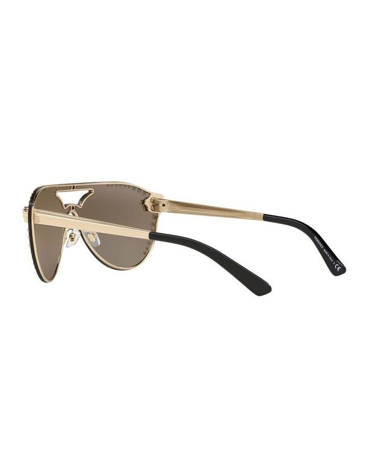 Gold Rimless Cat Eye Sunglasses VE2161B 434432 image 5