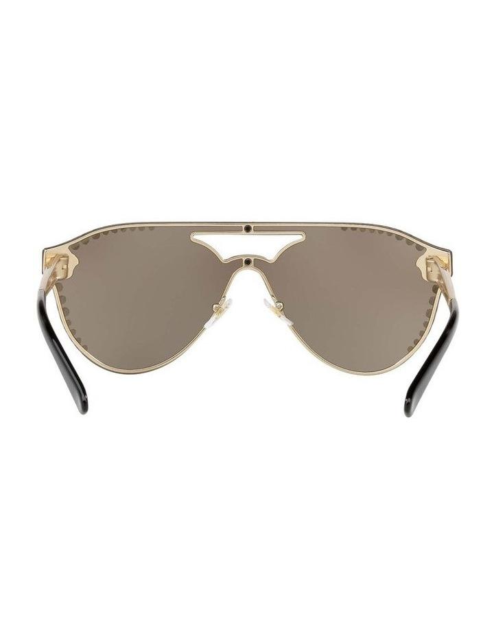 Gold Rimless Cat Eye Sunglasses VE2161B 434432 image 7