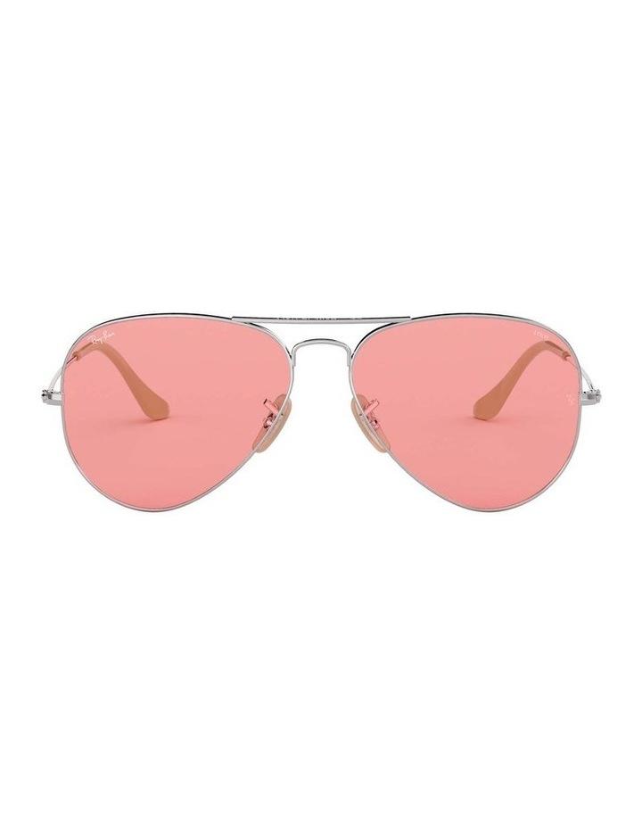 Aviator Large Metal Pink Sunglasses 0RB3025 1062739137 image 2