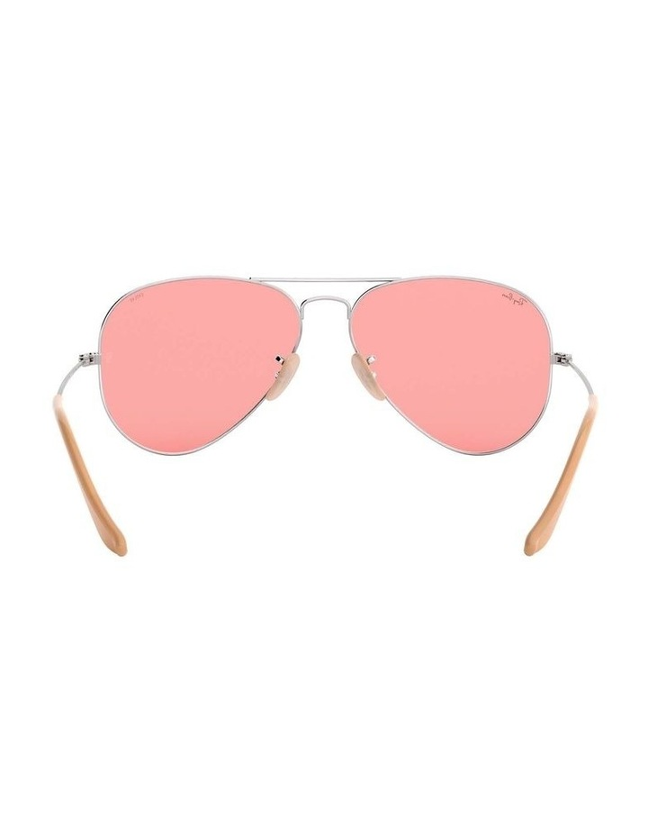 Aviator Large Metal Pink Sunglasses 0RB3025 1062739137 image 7