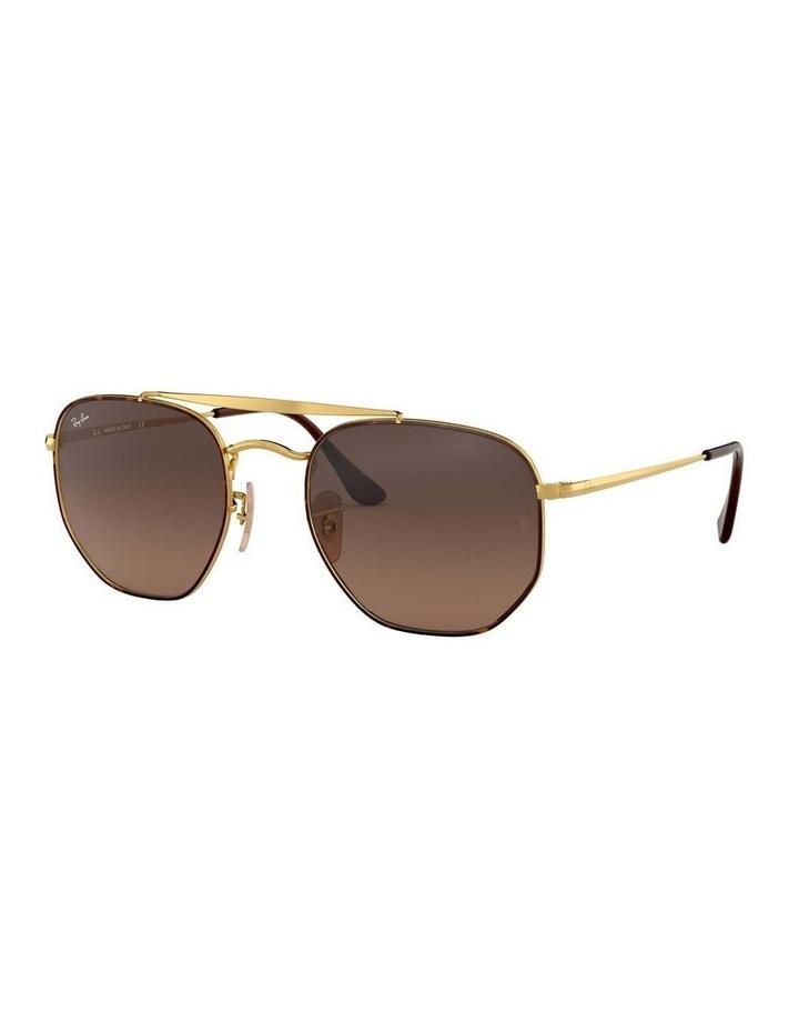 The Marshal Brown Hexagonal Sunglasses 0RB3648 1517424012 image 1