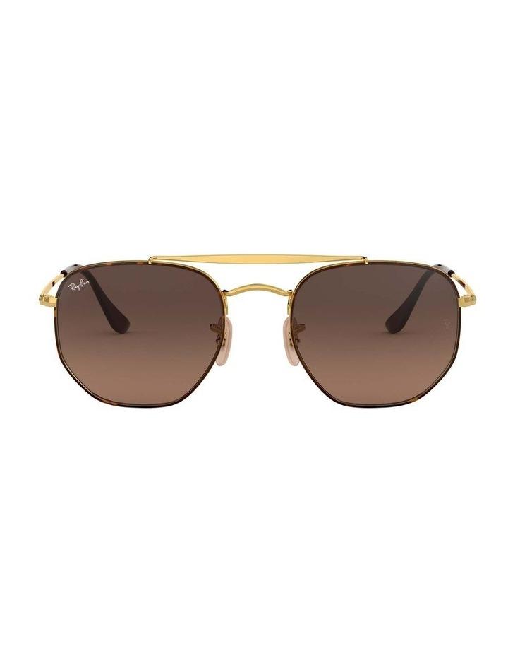 The Marshal Brown Hexagonal Sunglasses 0RB3648 1517424012 image 2