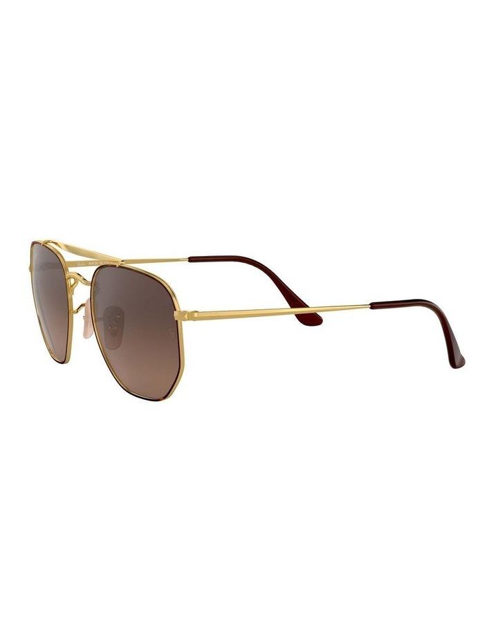The Marshal Brown Hexagonal Sunglasses 0RB3648 1517424012 image 3