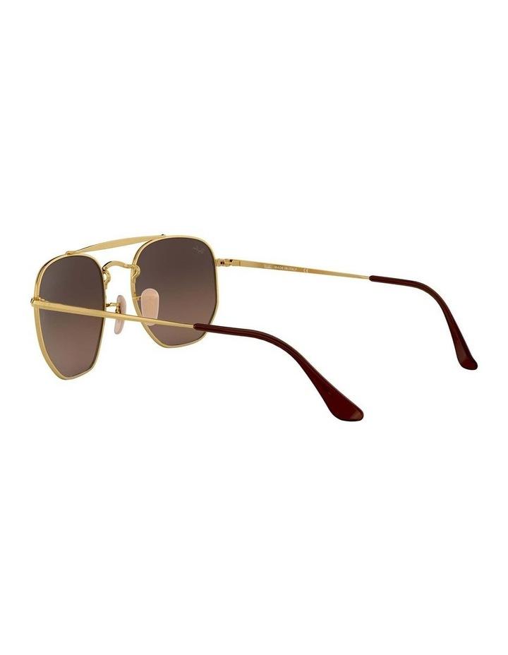 The Marshal Brown Hexagonal Sunglasses 0RB3648 1517424012 image 5