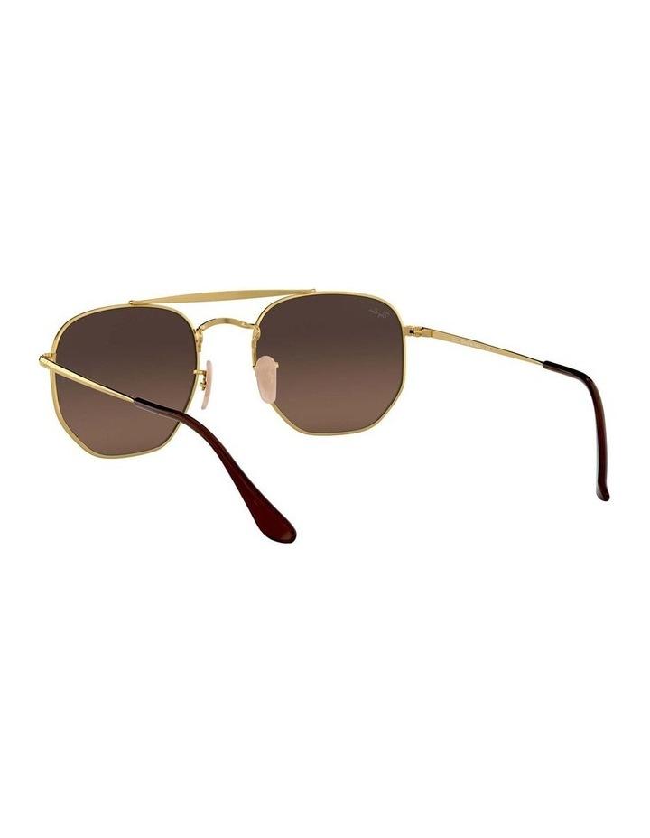 The Marshal Brown Hexagonal Sunglasses 0RB3648 1517424012 image 6