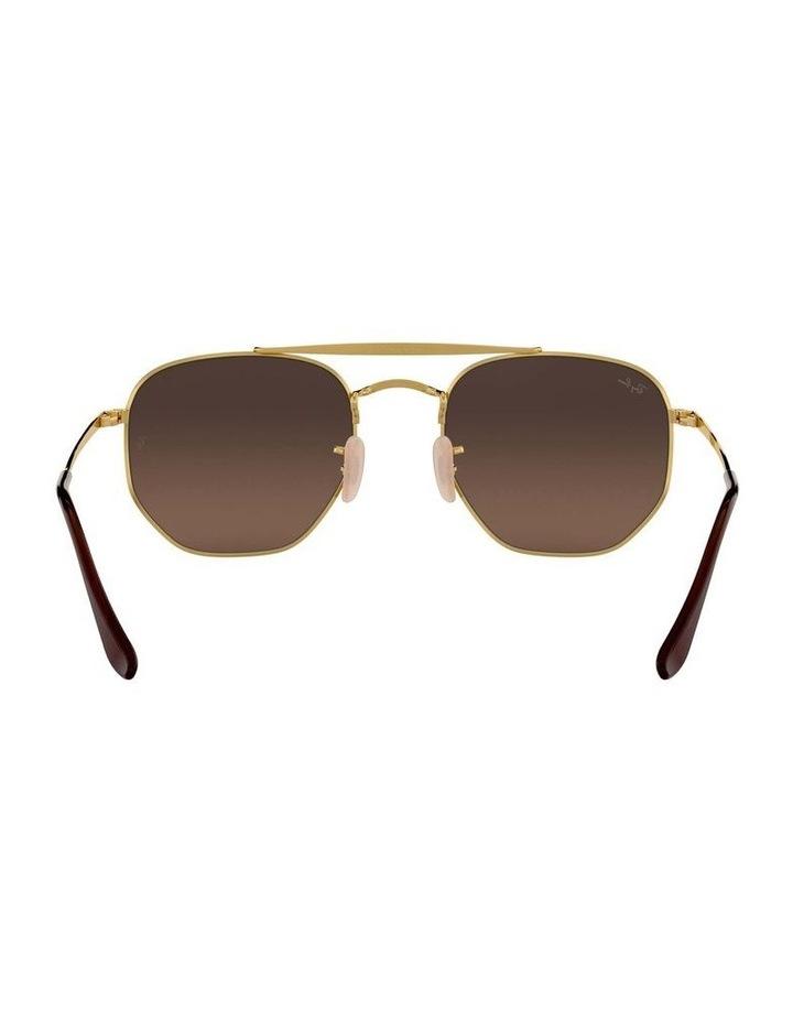 The Marshal Brown Hexagonal Sunglasses 0RB3648 1517424012 image 7