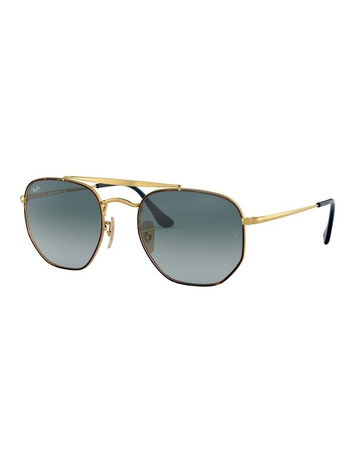 The Marshal Brown Hexagonal Sunglasses 0RB3648 1517424009 image 1