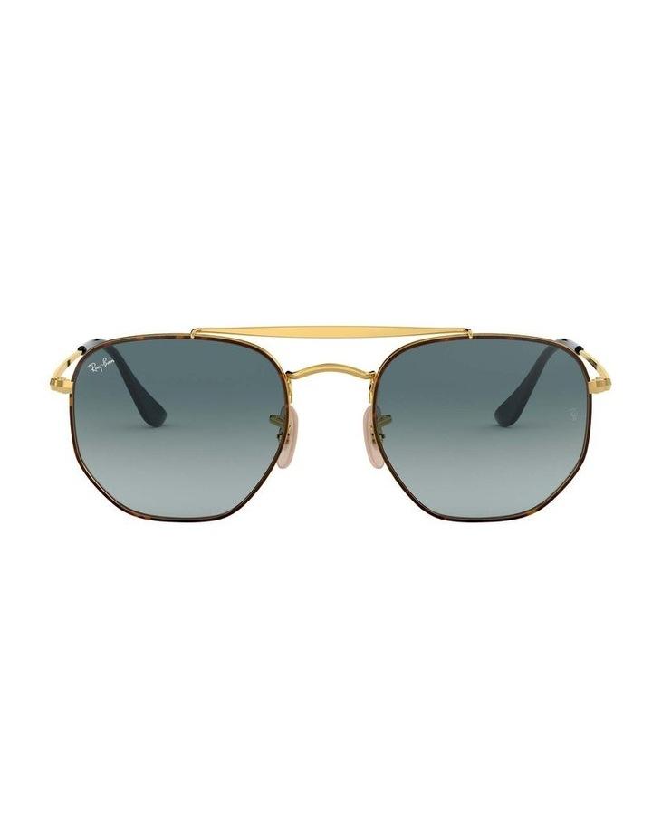 The Marshal Brown Hexagonal Sunglasses 0RB3648 1517424009 image 2
