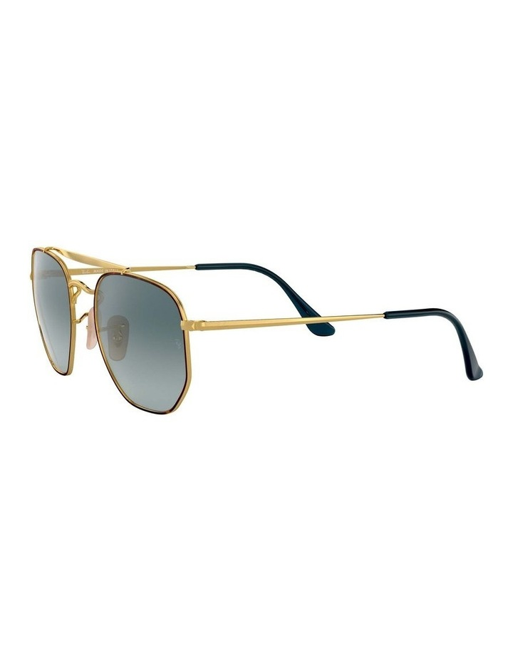 The Marshal Brown Hexagonal Sunglasses 0RB3648 1517424009 image 3