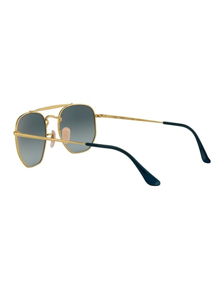 The Marshal Brown Hexagonal Sunglasses 0RB3648 1517424009 image 5