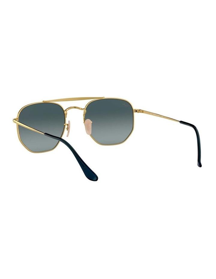The Marshal Brown Hexagonal Sunglasses 0RB3648 1517424009 image 6