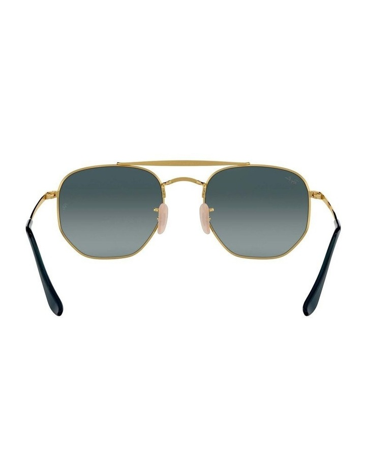 The Marshal Brown Hexagonal Sunglasses 0RB3648 1517424009 image 7