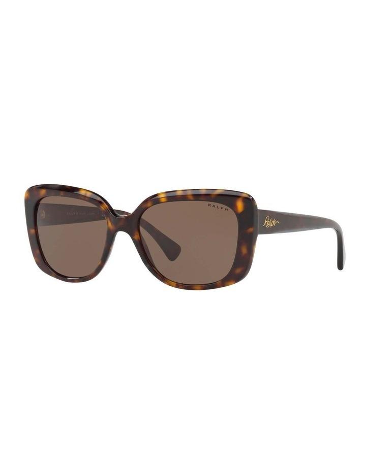 Brown Cat Eye Sunglasses RA5241 434404 image 1