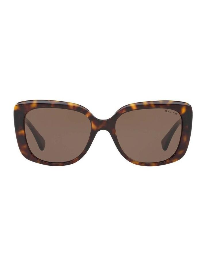 Brown Cat Eye Sunglasses RA5241 434404 image 2