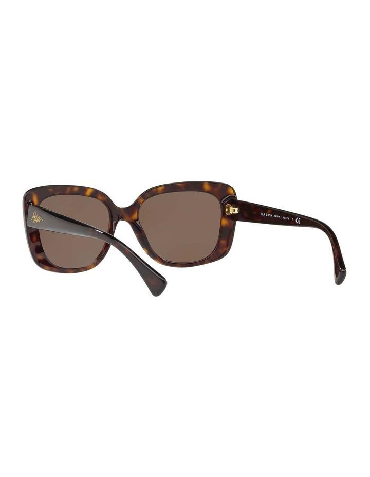 Brown Cat Eye Sunglasses RA5241 434404 image 6