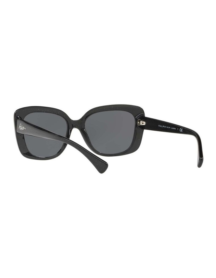 Grey Cat Eye Sunglasses RA5241 434405 image 6