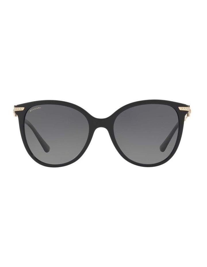 Polarised Grey Round Sunglasses BV8201B 432976 image 2