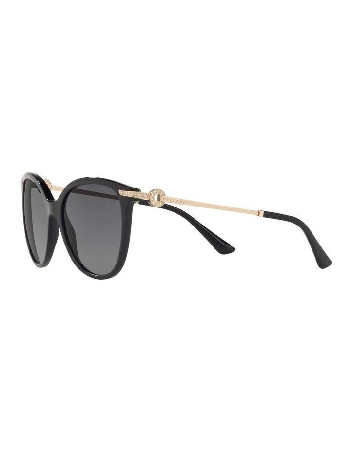 Polarised Grey Round Sunglasses BV8201B 432976 image 3
