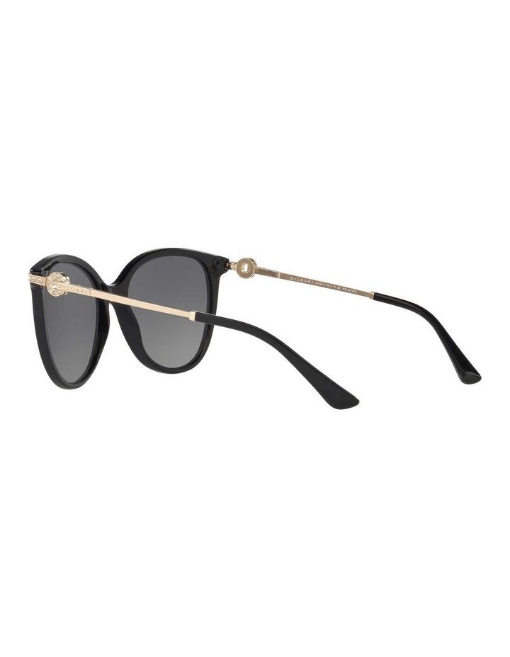 Polarised Grey Round Sunglasses BV8201B 432976 image 5