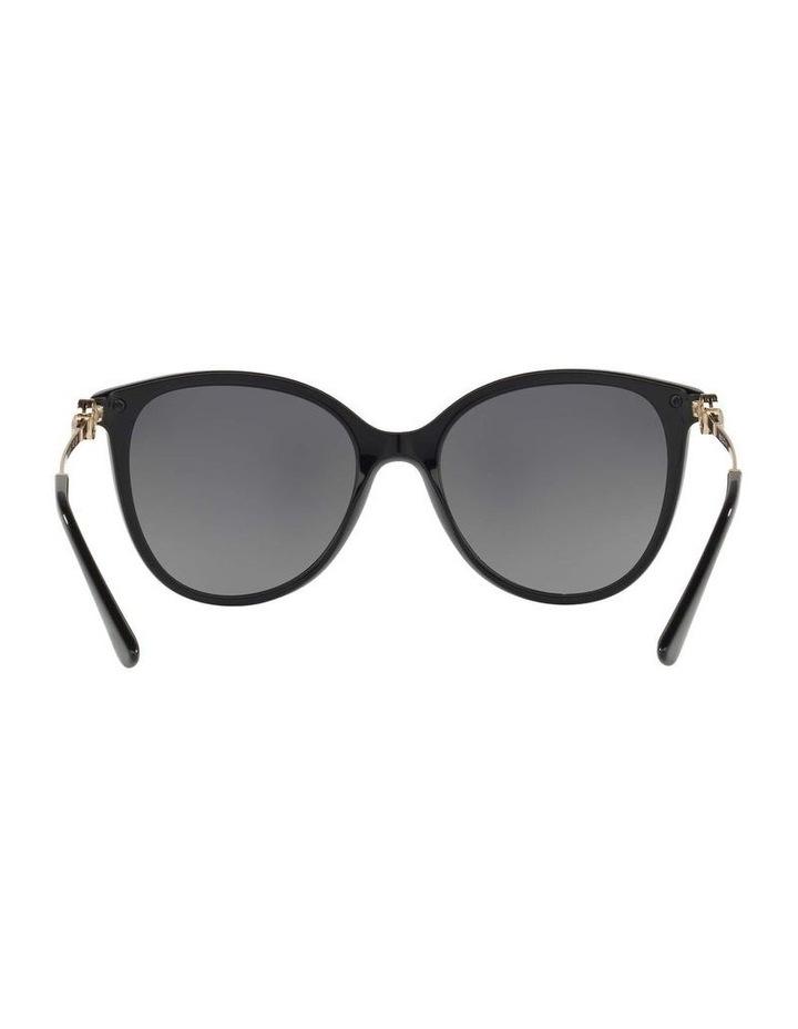 Polarised Grey Round Sunglasses BV8201B 432976 image 7