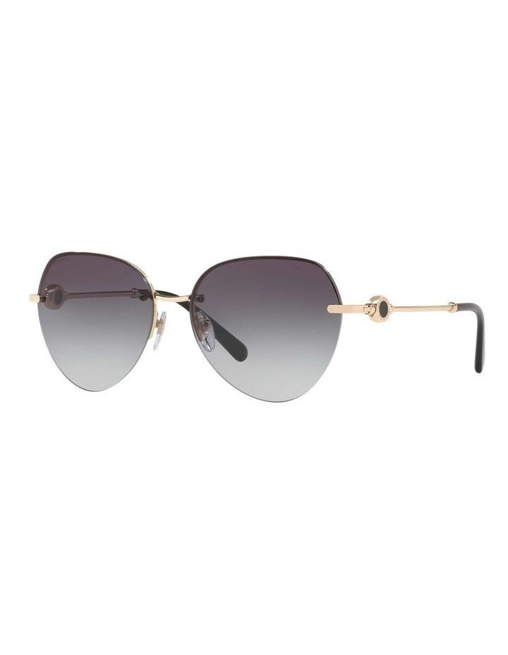 Blue Aviator Sunglasses BV6108 436413 image 1