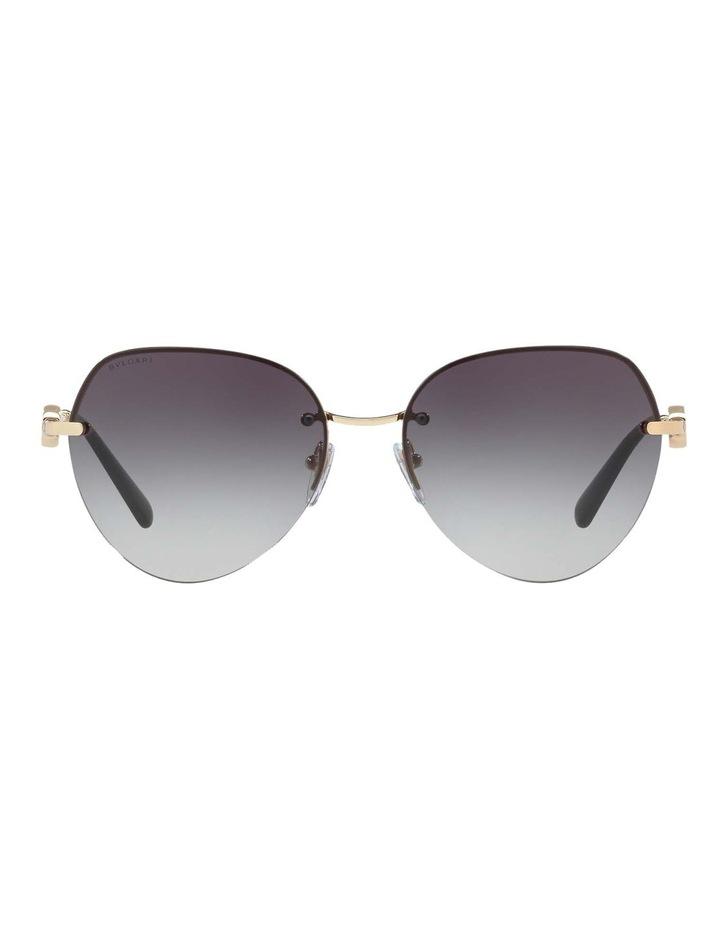 Blue Aviator Sunglasses BV6108 436413 image 2