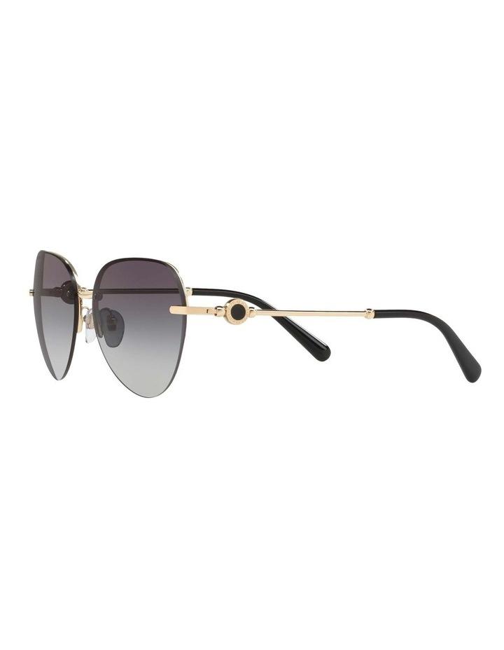 Blue Aviator Sunglasses BV6108 436413 image 3