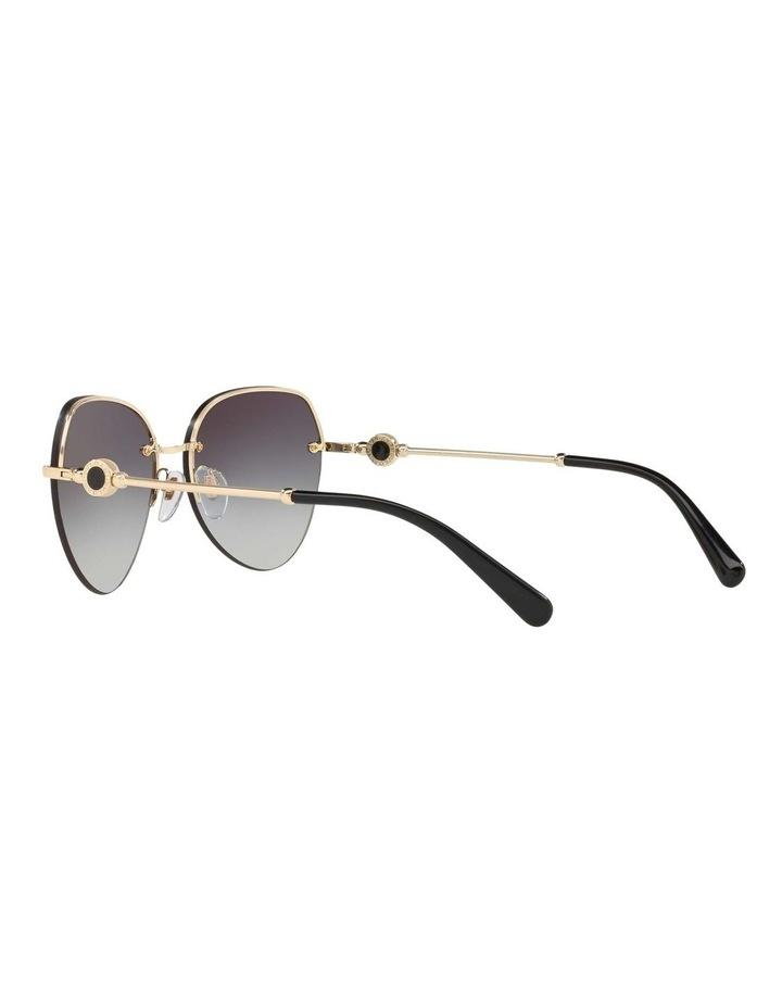 Blue Aviator Sunglasses BV6108 436413 image 5