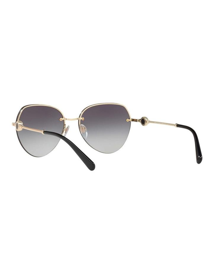 Blue Aviator Sunglasses BV6108 436413 image 6