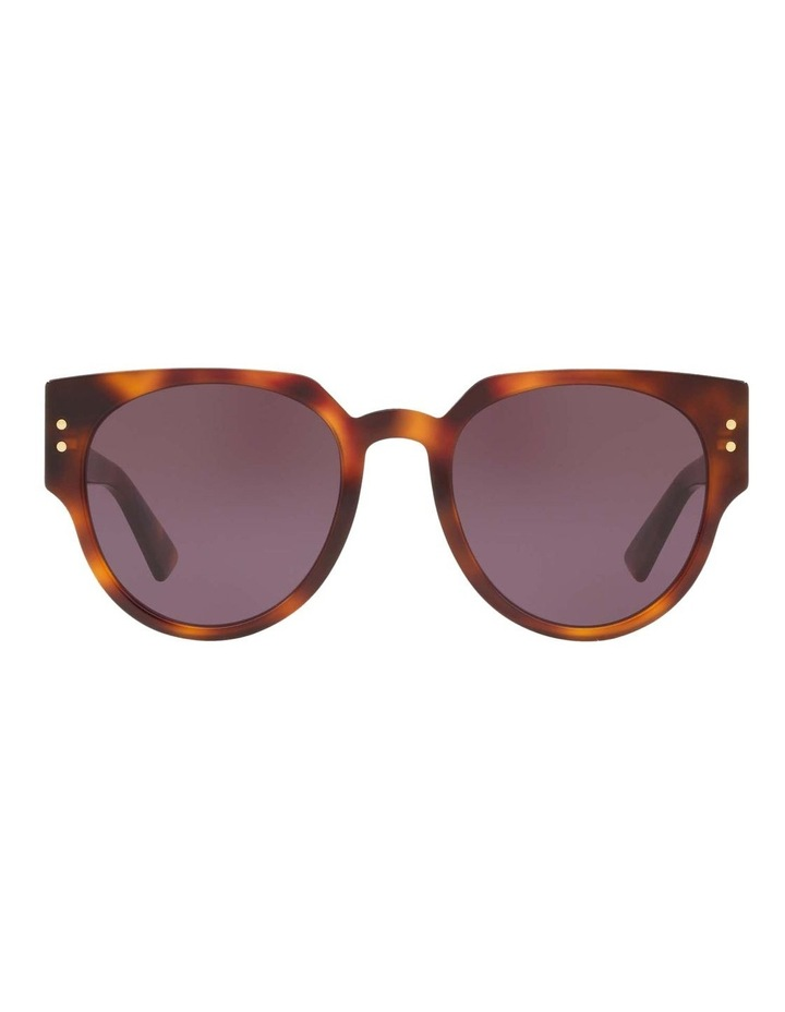 Ladydiorstuds3 Studs 3 Purple Round Sunglasses 437430 image 2