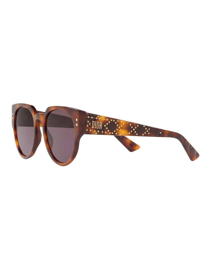 Ladydiorstuds3 Studs 3 Purple Round Sunglasses 437430 image 3
