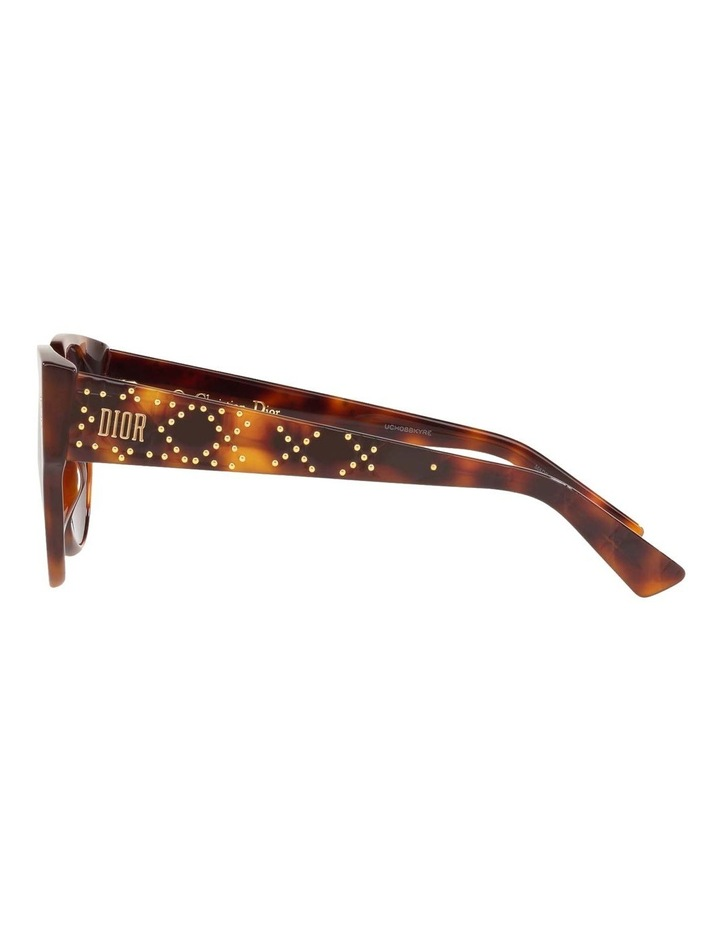 Ladydiorstuds3 Studs 3 Purple Round Sunglasses 437430 image 4