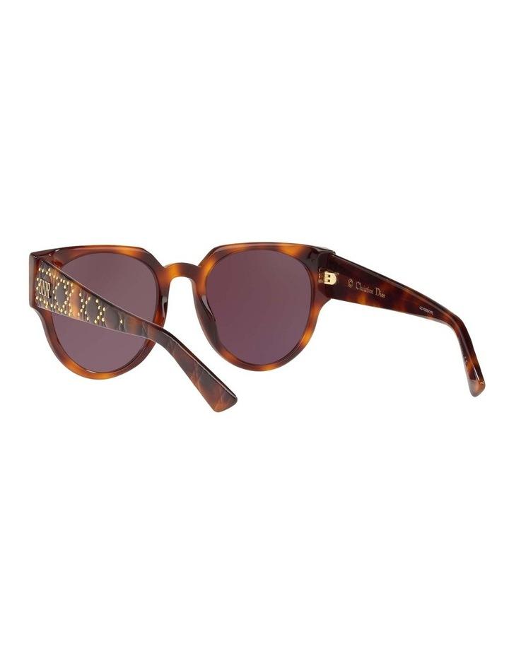 Ladydiorstuds3 Studs 3 Purple Round Sunglasses 437430 image 6