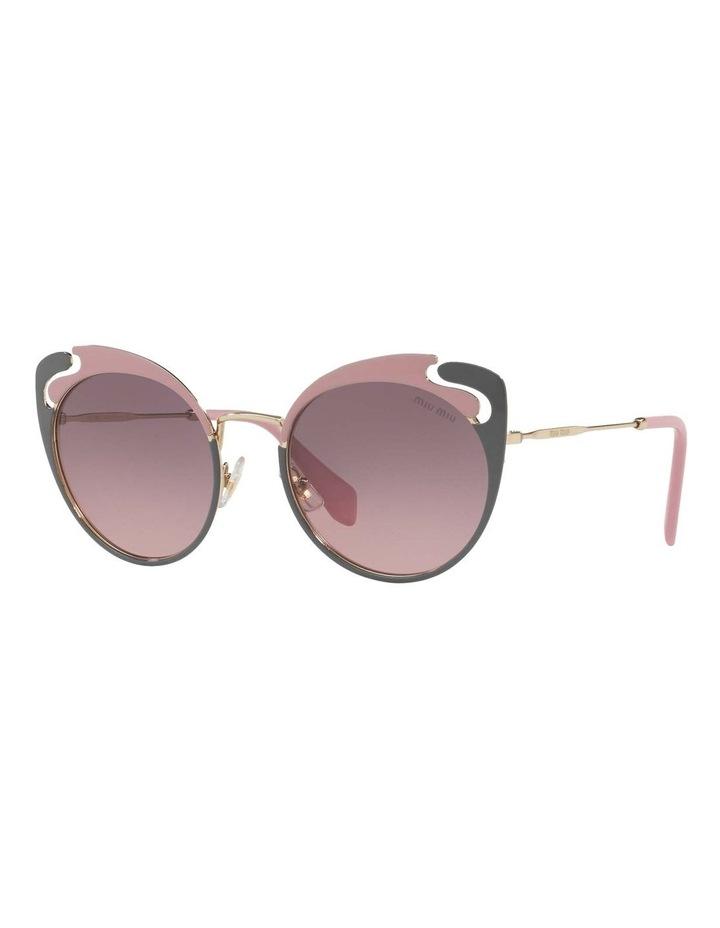 Pink Metal Cat Eye Sunglasses MU57TS 437523 437523 image 1