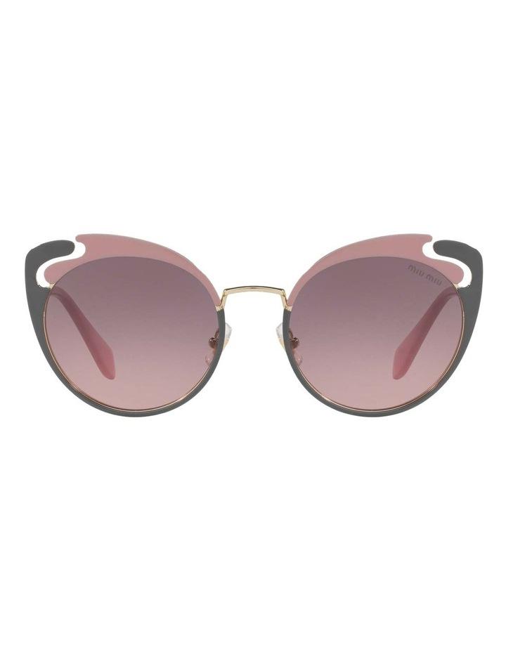 Pink Metal Cat Eye Sunglasses MU57TS 437523 437523 image 2