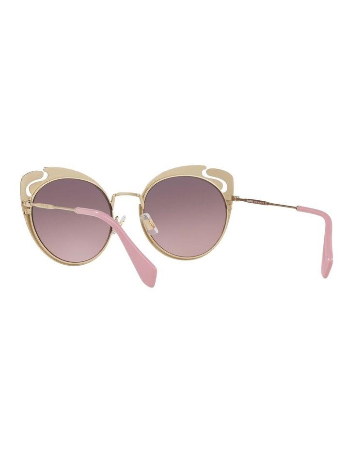 Pink Metal Cat Eye Sunglasses MU57TS 437523 437523 image 5