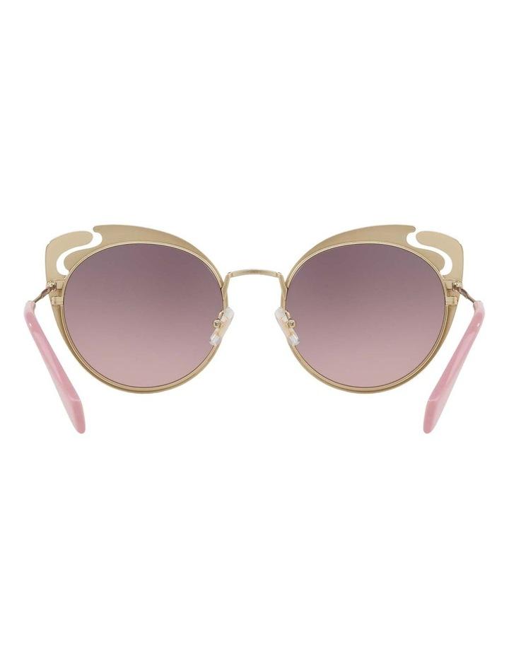 Pink Metal Cat Eye Sunglasses MU57TS 437523 437523 image 6