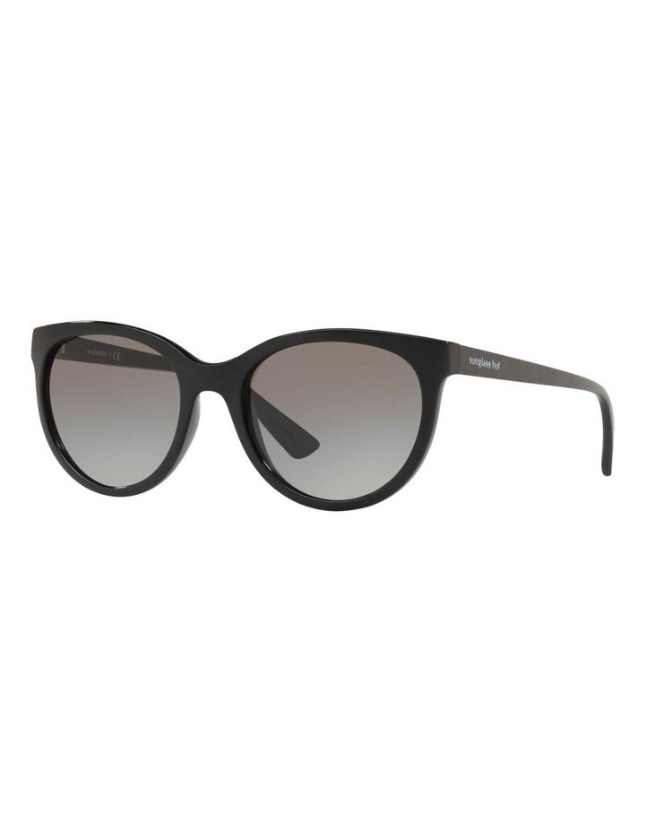 Grey Cat Eye Sunglasses HU2011 437236 image 1