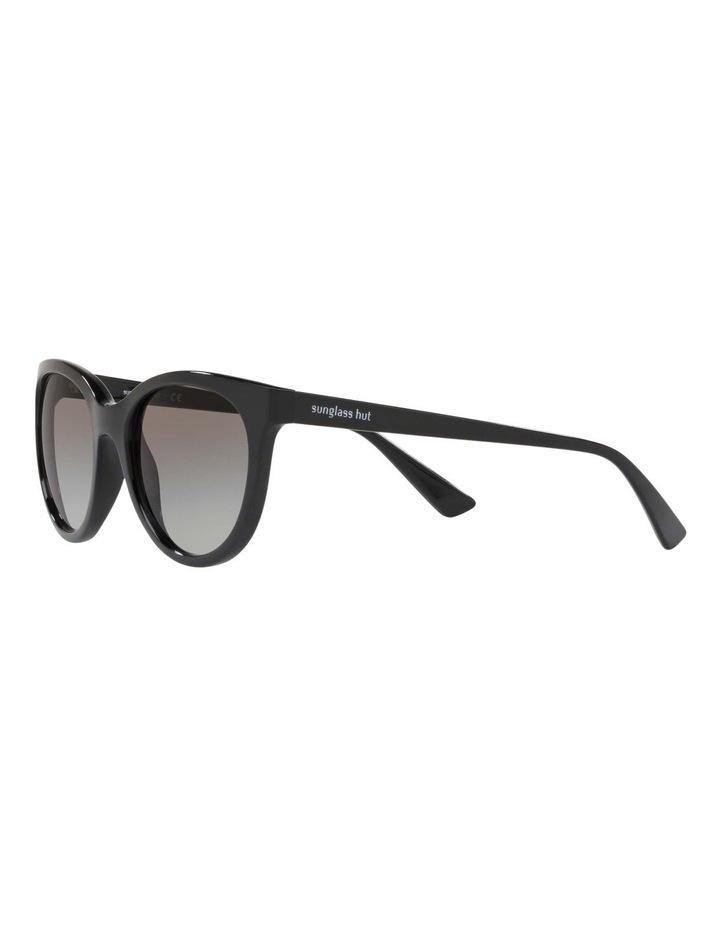 Grey Cat Eye Sunglasses HU2011 437236 image 3