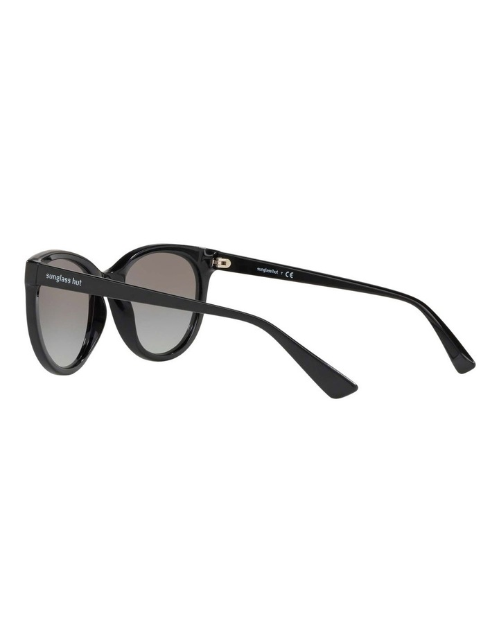 Grey Cat Eye Sunglasses HU2011 437236 image 5