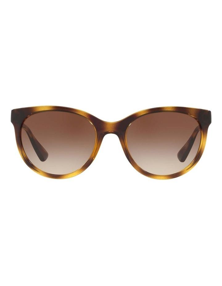Brown Cat Eye Sunglasses HU2011 437238 image 2