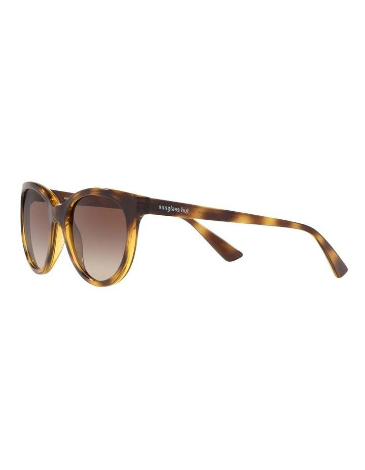 Brown Cat Eye Sunglasses HU2011 437238 image 3