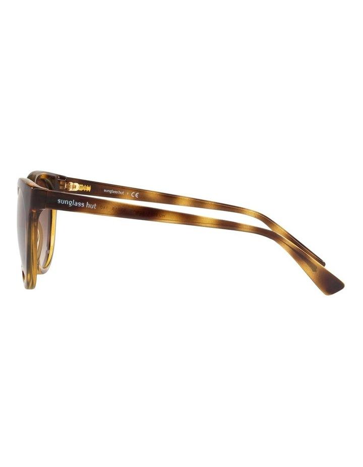 Brown Cat Eye Sunglasses HU2011 437238 image 4