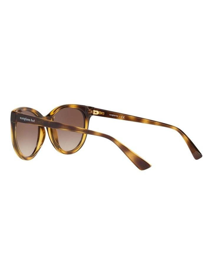 Brown Cat Eye Sunglasses HU2011 437238 image 5
