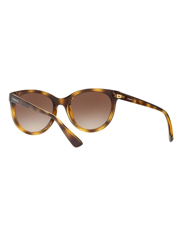 Brown Cat Eye Sunglasses HU2011 437238 image 6