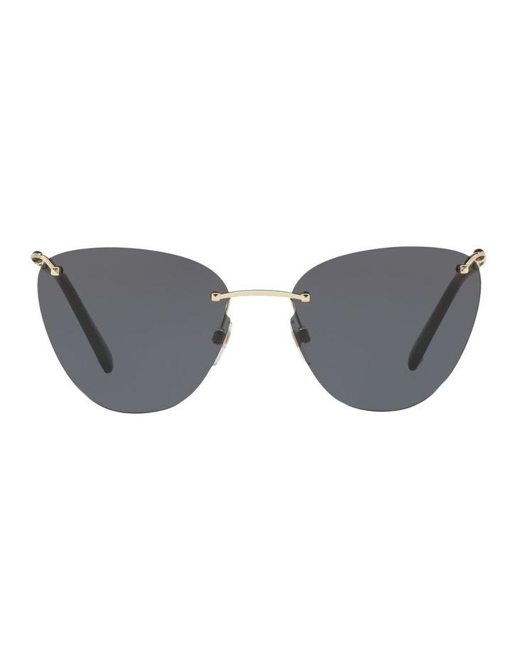 Grey Metal Cat Eye Sunglasses VA2022 437593 image 1