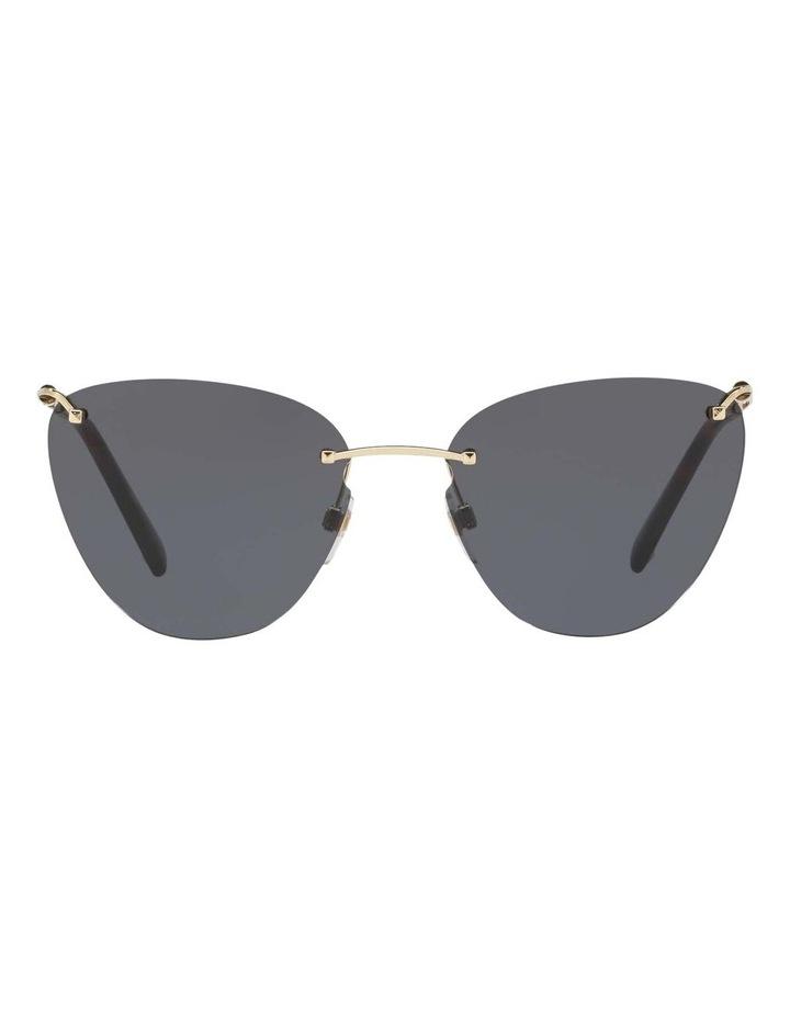 Grey Metal Cat Eye Sunglasses VA2022 437593 image 2