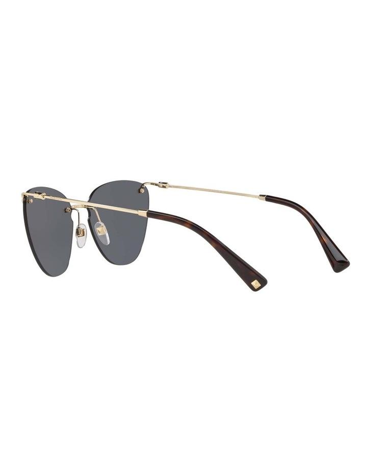 Grey Metal Cat Eye Sunglasses VA2022 437593 image 5
