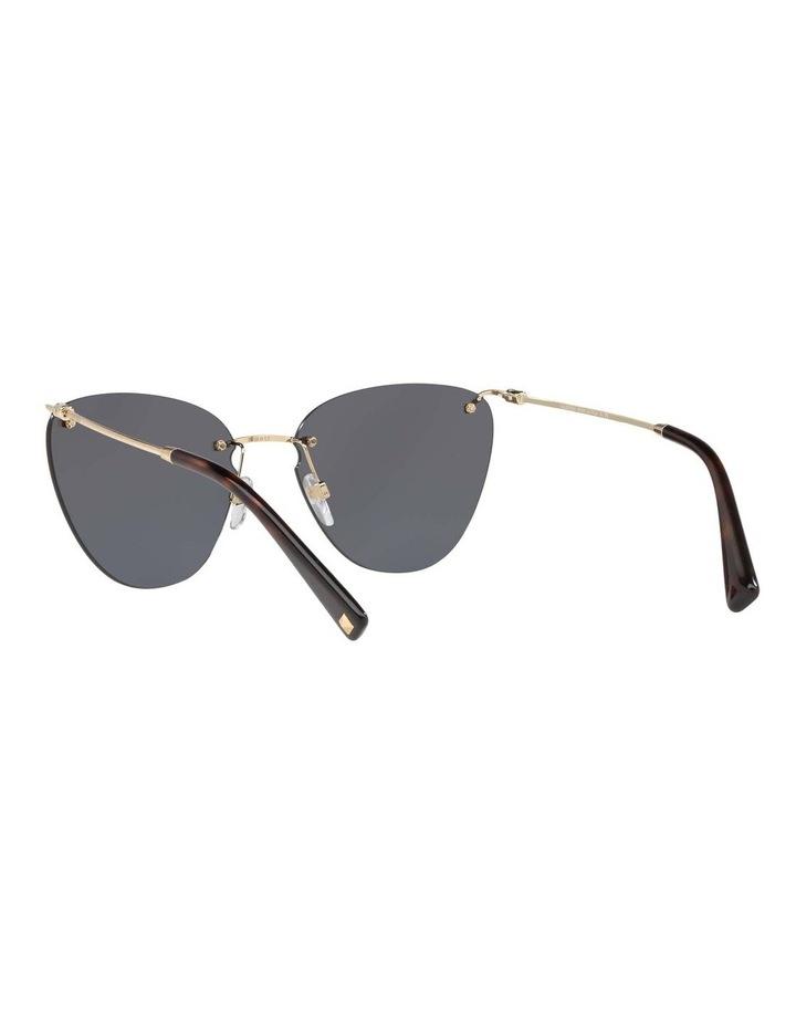 Grey Metal Cat Eye Sunglasses VA2022 437593 image 6